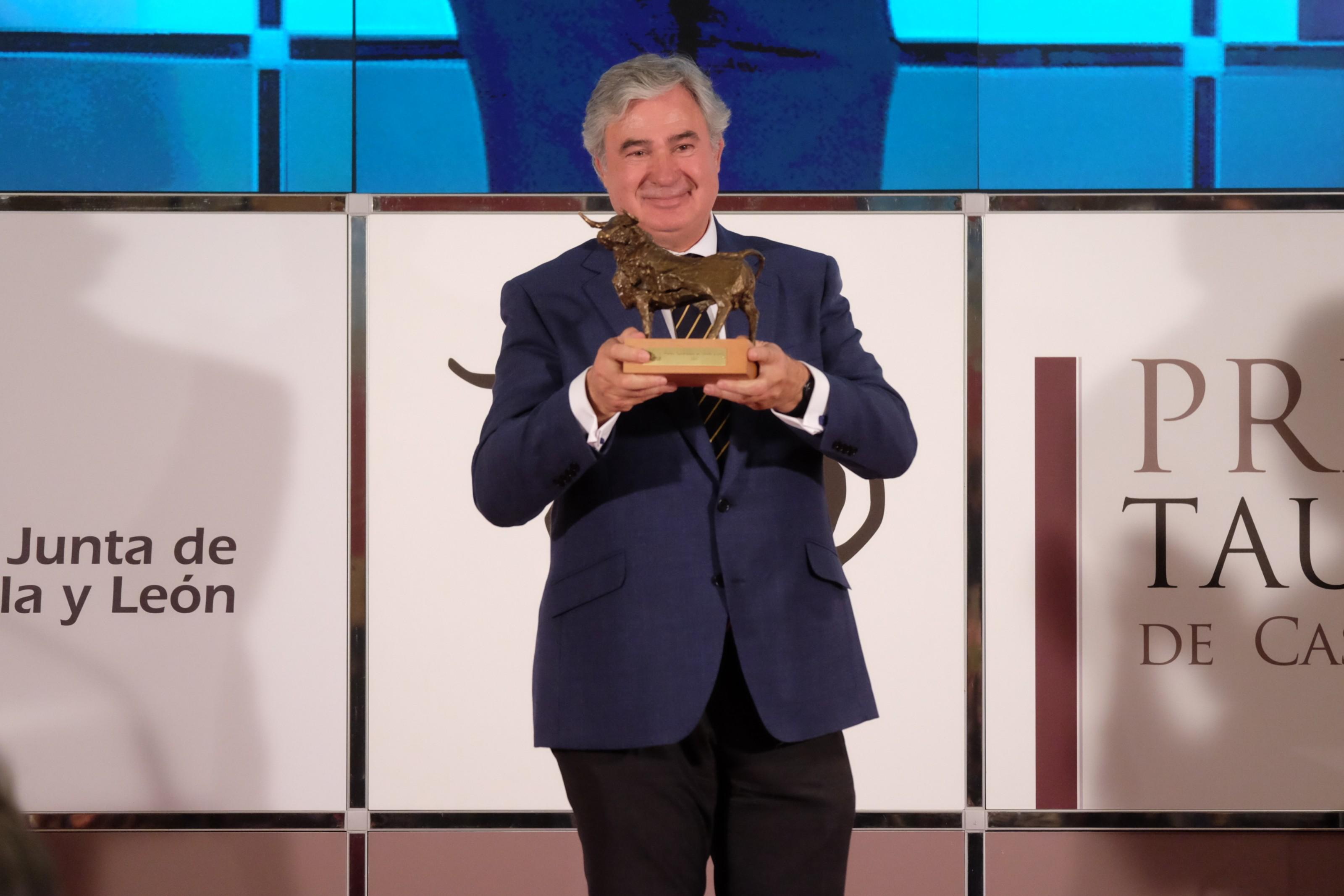 Juan Ignacio Pérez-Tabernero, galardonado con el III Premio Tauromaquia Castilla y León