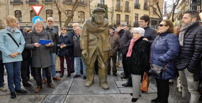 El poeta 'Adares' unido para siempre a la historia cultural de Salamanca