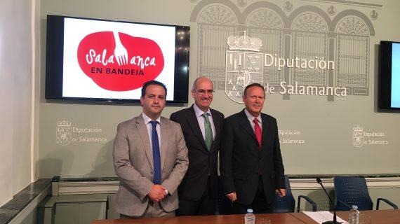 La Diputación invita a todos los profesionales hosteleros a asociarse a 'Salamanca en Bandeja'