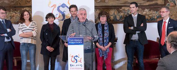 Salamanca y su Universidad, escenario de lujo para la grabación de un thriller histórico