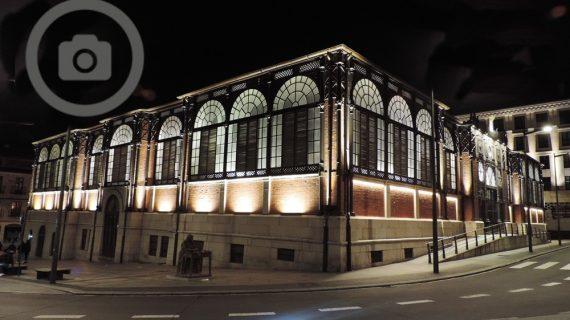 Nueva iluminación artística para el Mercado Central