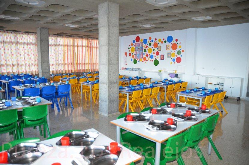 Las familias salmantinas dan un notable a los comedores escolares