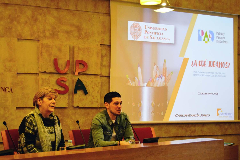 La UPSA presenta herramientas para la inclusión escolar en el recreo