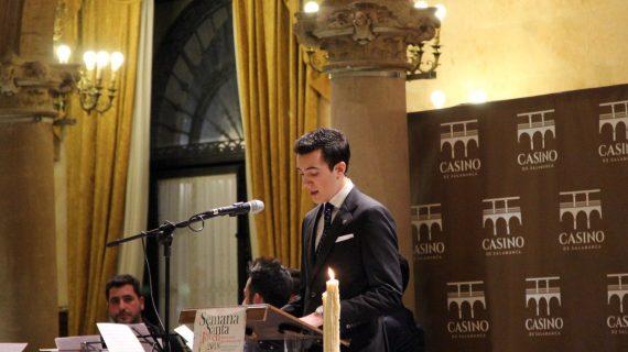 El joven estudiante de medicina, Alberto Alén, pregonero joven de la Semana Santa salmantina