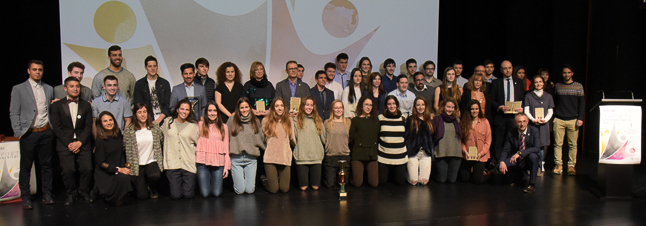 Celebrada la XXVIII gala de los Premios Anuales del Deporte Universitario
