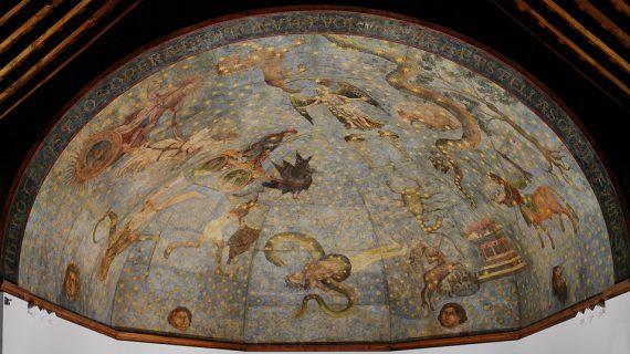 La exposición 'El Cielo de Salamanca. Arte y astronomía en la bóveda de la antigua Biblioteca Universitaria', ampliada hasta julio