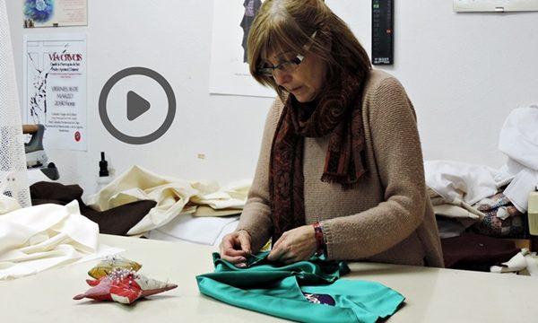 Cristina Domínguez: una modista dedicada a la Semana Santa