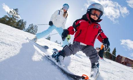 Gran participación en el Programa Escolar de Esquí