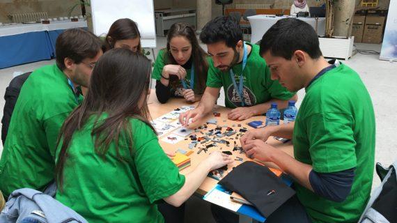Los LEGO 'invaden' la Universidad de Salamanca