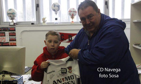 El fútbol sigue volcado con Rubén