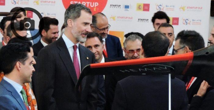 El Rey Felipe VI da el pistoletazo de salida a StarUp Olé