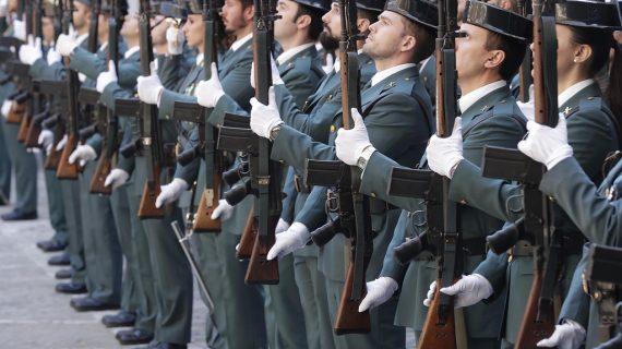 Salamanca acogerá los actos de la Semana de la Guardia Civil