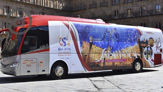 El VIII Centenario de la Universidad de Salamanca, en bus entre Salamanca y Madrid