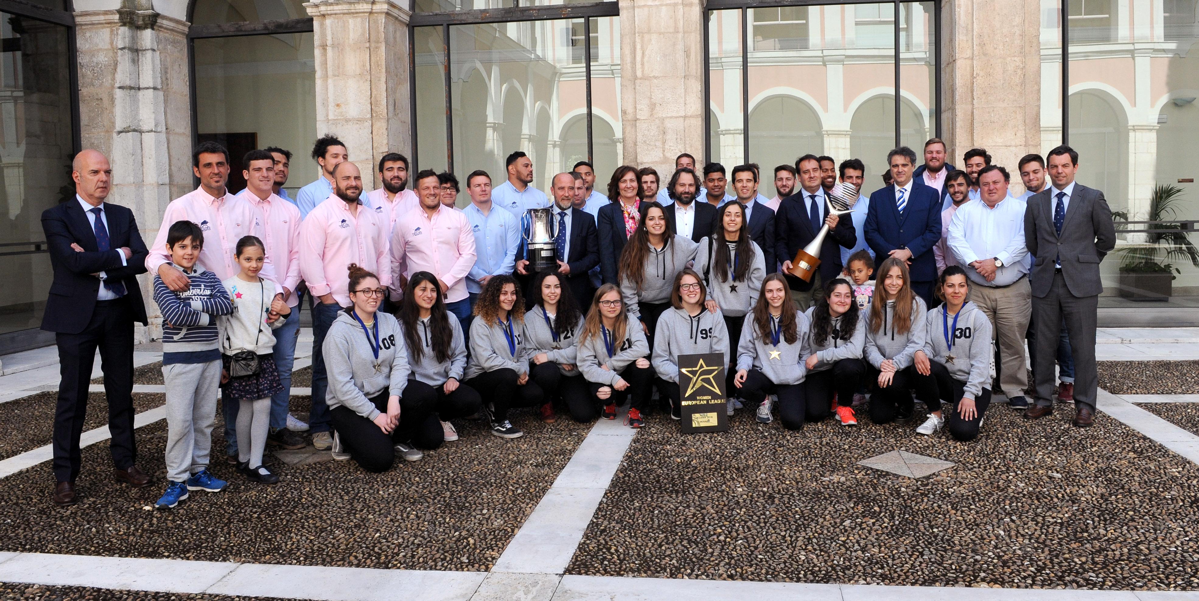 La Junta de Castilla y León reconoce al Avenida como ejemplo de trabajo en equipo y superación