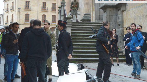 'Mientras dure la guerra', la película de Amenábar rodada en Salamanca, ya tiene fecha de estreno
