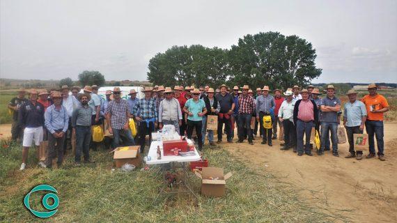 Cobadu capitanea la tradicional visita a sus campos de ensayo