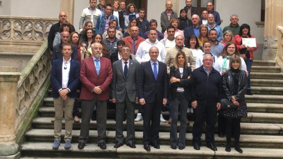 La Diputación entrega 32 diplomas a los participantes del Programa Mixto de Formación y Empleo