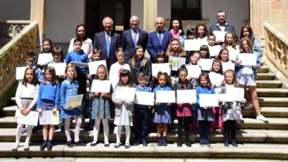 Entregados los Premios del 16º Concurso de Dibujo 'Venancio Blanco' sobre 'Juegos Escolares'