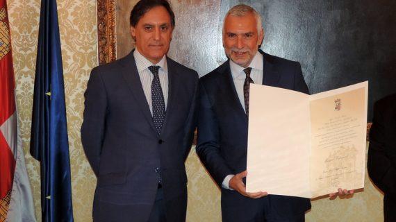 Salamanca tiene nuevo Húesped Distinguido: el embajador italiano Stefano Sannino