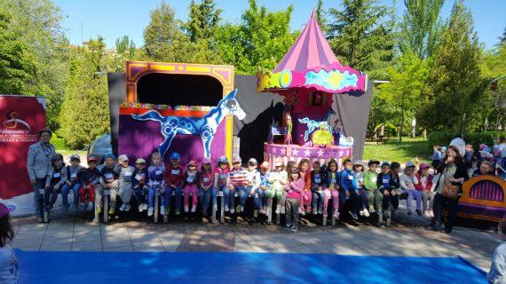 Más de 2.200 escolares de Educación Infantil participarán en el programa Teatro en los Parques