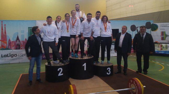 La USAL, campeona de España en el I Campeonato de Halterofilia Universitario