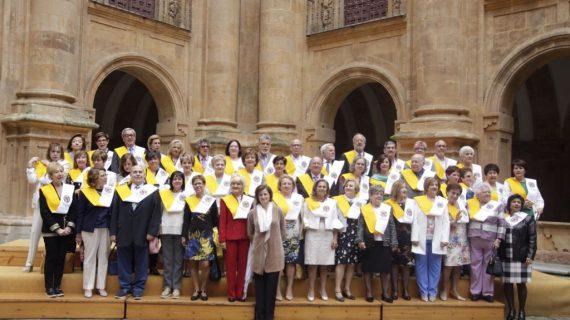 La UPSA gradúa a sus estudiantes más longevos