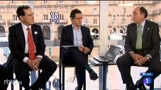 Los Desayunos de Televisión Española en directo desde la Plaza Mayor