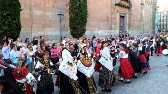 'Salamanca, Ciudad del Español' inicia mañana clases de folclore salmantino