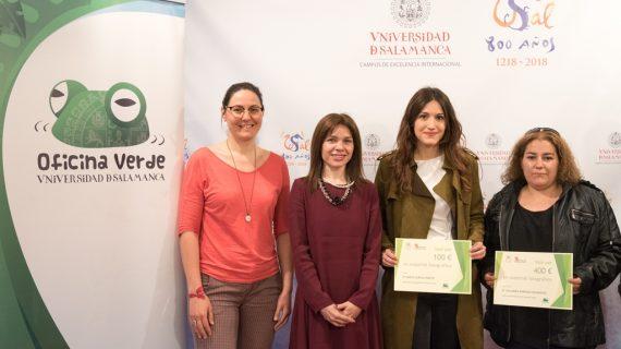 La Oficina Verde hace entrega de los diplomas a los ganadores del concurso de fotografía