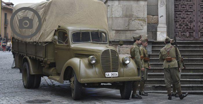 El rodaje de 'Mientras dure la guerra' ocasionará cortes puntuales en la Plaza Mayor