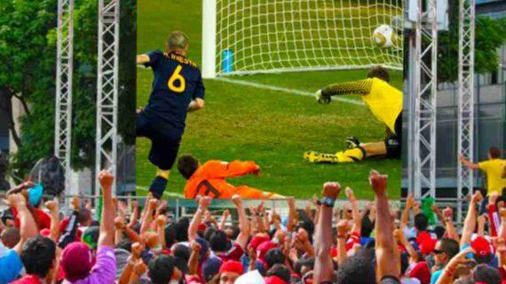El Mundial de fútbol se podrá ver en las terrazas de Salamanca