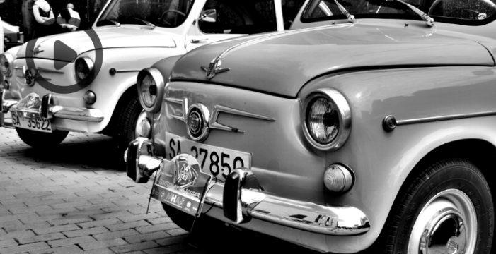 La solidaridad, a bordo de los coches clásicos