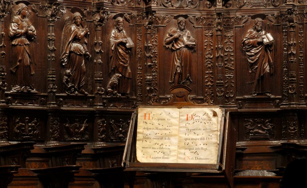 Concierto de música sacra en la Catedral Vieja a cargo del Coro de Cámara de la Escuela Municipal de Música y Danza