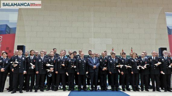 La Policía Local celebra su festividad con una entrega de condecoraciones