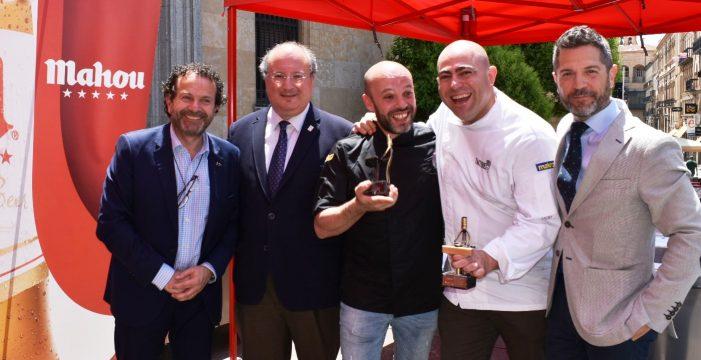 La 'Bomba de Ajoblanco' del Lilicook, ganadora del Concurso de Pinchos de Salamanca