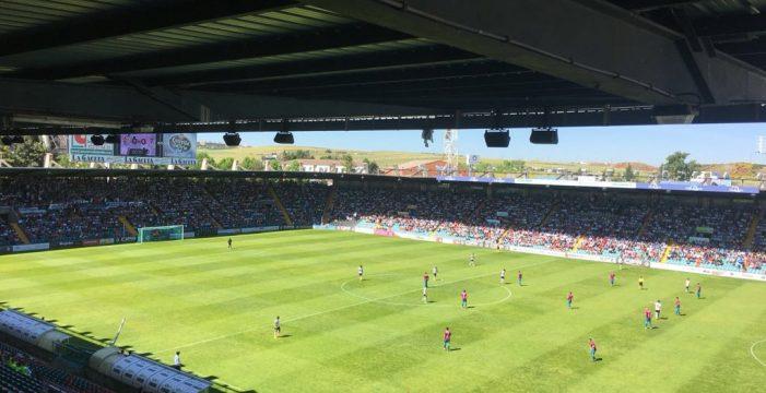 Empate a uno entre el Salmantino UDS y el Compostela ante 8.000 espectadores