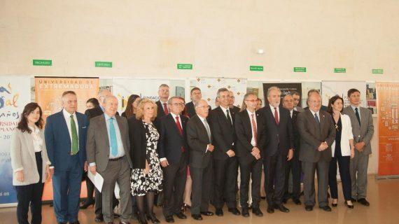 Ricardo Rivero asiste a la clausura del Congreso Internacional 'Carlos V, Vitoria y Erasmo en Yuste'