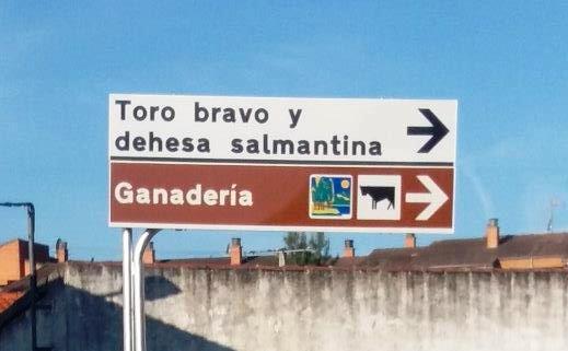 La Ruta del Toro Bravo, señalizada