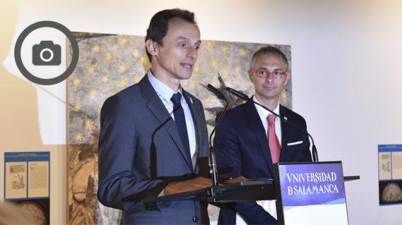 Pedro Duque: 'Las Universidades tendrán siempre en mi un aliado'