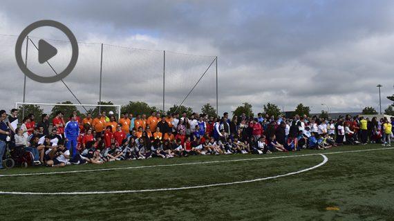 Éxito de participación en el Mundialito de Fútbol por la Inclusión de Afim