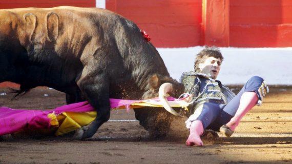 Antonio Grande cae herido en Santander