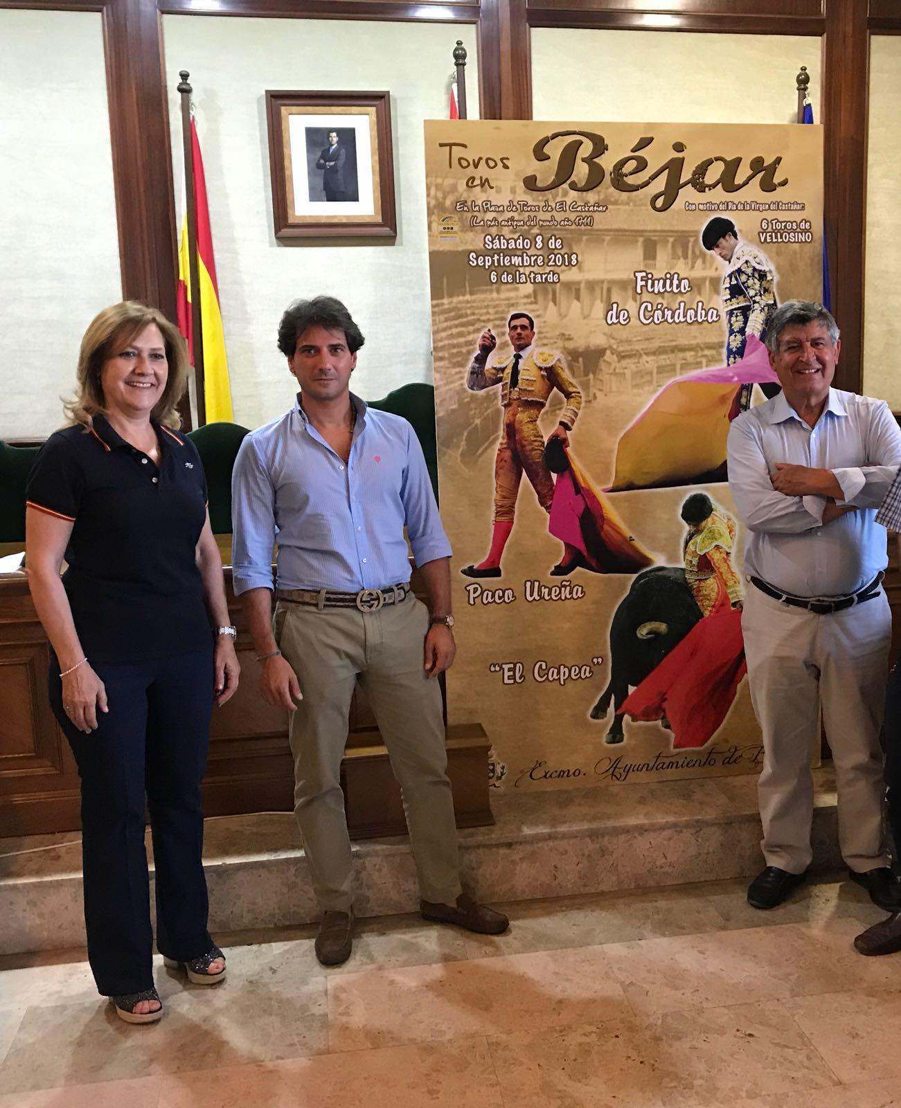 Finito de Córdoba, Paco Ureña y El Capea, en 'La Ancianita' de Béjar