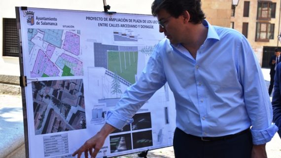 El solar ubicado en el Patio Chico será acondicionado como zona verde