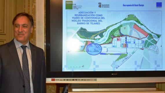 El Ayuntamiento invierte 2,7 millones de euros en reurbanizar el barrio de Tejares
