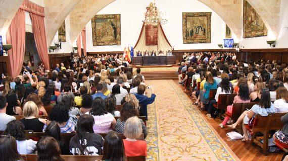 Más de 1.700 estudiantes llegan a Salamanca procedentes de todo el mundo para estudiar español