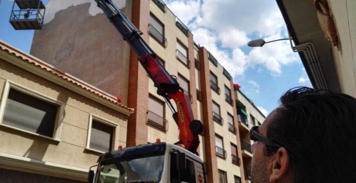 100 metros cuadrados de mural para el Barrio del Oeste