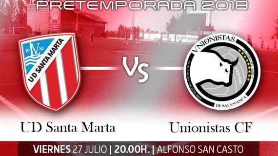 A la venta las entradas para el partido entre Santa Marta y Unionistas