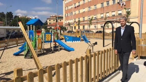 Nuevo parque para el barrio de El Rollo con 1.900 metros cuadrados