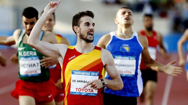 Álvaro de Arriba se alza con la medalla de oro en los Juegos Mediterráneos