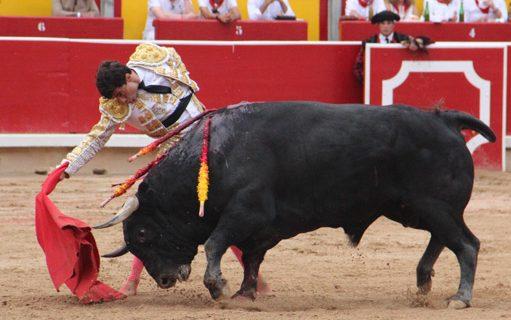 El toro 'Cuba', del Puerto de San Lorenzo, mejor toro de San Fermín